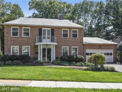 Kensington Single Family Home For Sale: 9922 La Duke Drive
