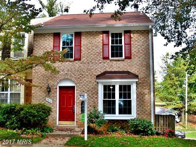 Silver Spring Townhouse For Sale: 3916 Ferrara Drive