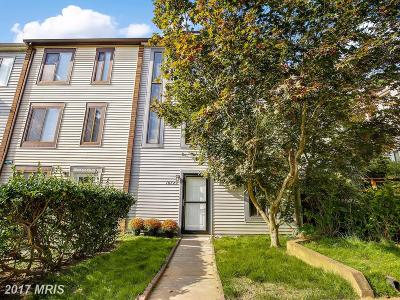 Silver Spring Townhouse For Sale: 10723 Lester Street