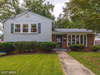 Silver Spring Single Family Home For Sale: 10308 Inwood Avenue