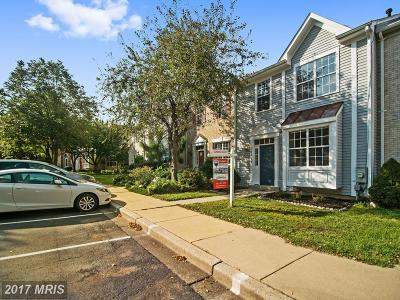 Germantown Townhouse For Sale: 19119 Highstream Drive