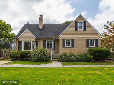 Bethesda, Chevy Chase Single Family Home For Sale: 5806 Wyngate Drive
