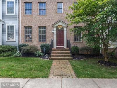 Rockville Townhouse For Sale: 404 Garden View Way