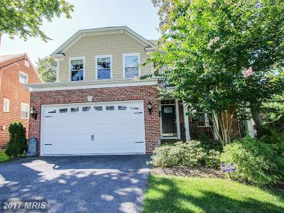 Rockville MD Single Family Home For Sale: $1,049,000