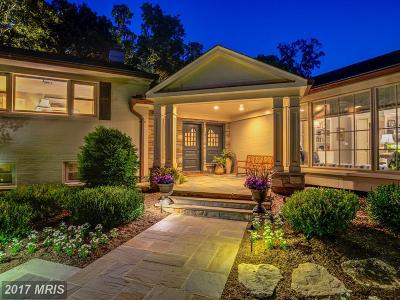 Bethesda, Chevy Chase Single Family Home For Sale: 6407 Bradley Boulevard