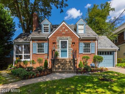 Bethesda Single Family Home For Sale: 5611 Roosevelt Street