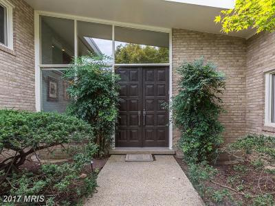 Bethesda, Chevy Chase Single Family Home For Sale: 3306 Shirley Lane