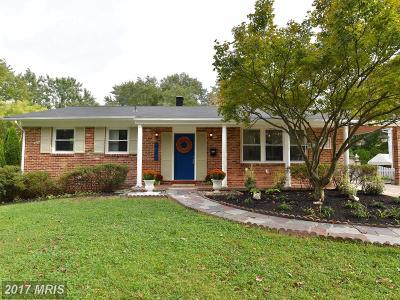 Silver Spring Single Family Home For Sale: 2610 Woodedge Road