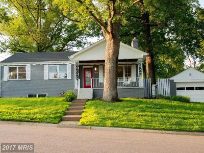 Silver Spring Single Family Home For Sale: 1009 Stirling Road