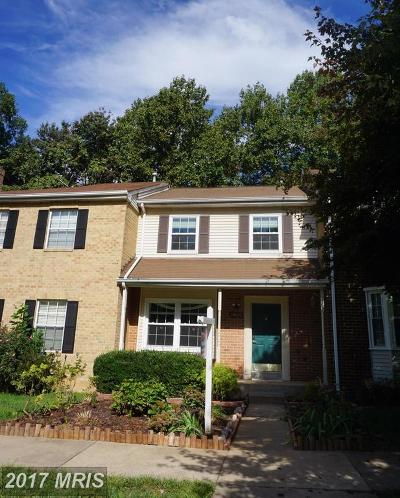 Germantown Townhouse For Sale: 19648 White Saddle Drive