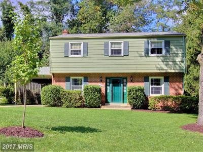 Silver Spring Single Family Home For Sale: 1404 Mimosa Lane