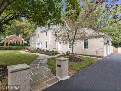 Bethesda, Chevy Chase Single Family Home For Sale: 9114 Kittery Lane