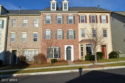Clarksburg Townhouse For Sale: 12809 Clarksburg Square Road