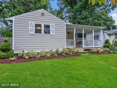 Kensington Single Family Home For Sale: 3923 Decatur Avenue