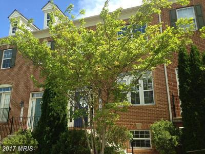 Clarksburg Townhouse For Sale: 13131 Sutler Square Terrace