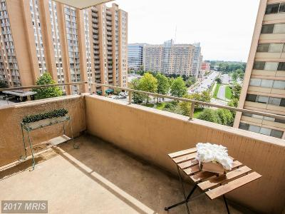 Chevy Chase Condo For Sale: 5500 Friendship Boulevard #1411N