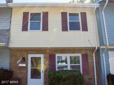 Gaithersburg MD Townhouse For Sale: $249,900