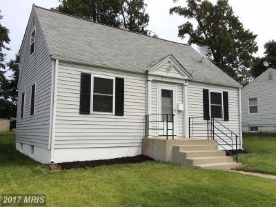 Silver Spring, Wheaton Single Family Home For Sale: 2715 Newton Street