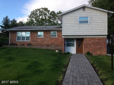 Potomac Single Family Home For Sale: 11809 Charen Lane