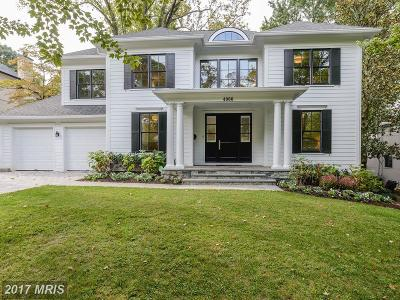 Chevy Chase Single Family Home For Sale: 4900 Falstone Avenue