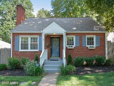 Silver Spring, Wheaton Single Family Home For Sale: 113 Eastmoor Drive
