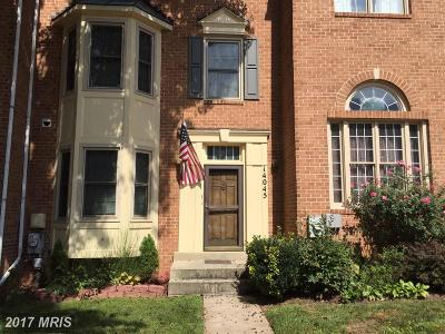 Germantown MD Townhouse For Sale: $354,900