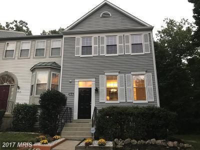 Burtonsville Townhouse For Sale: 14636 McKnew Road