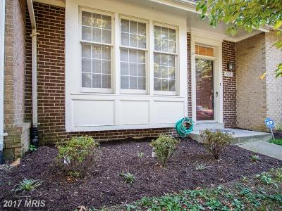 Silver Spring Townhouse For Sale: 1939 Hickory Hill Lane