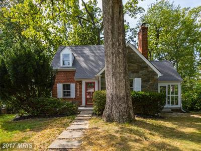 Silver Spring Single Family Home For Sale: 10324 Parkman Road