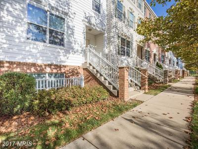 Wheaton Townhouse For Sale: 11350 King George Drive #6