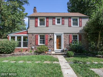 Takoma Park Single Family Home For Sale: 702 Auburn Avenue