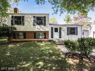 Gaithersburg Single Family Home For Sale: 7700 Prince Hall Court