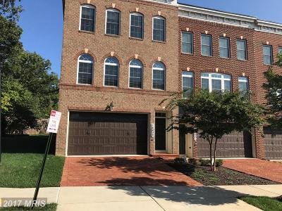 Rockville Townhouse For Sale: 14823 Wootton Manor Court