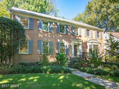Bethesda Single Family Home For Sale: 6003 Overlea Road