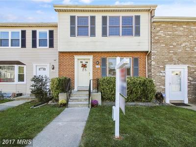 Gaithersburg Townhouse For Sale: 103 Middle Point Court