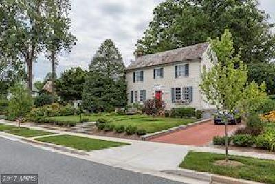 Chevy Chase Single Family Home For Sale: 7503 Meadow Lane