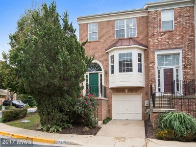 Gaithersburg Townhouse For Sale: 18610 Carriage Walk Circle