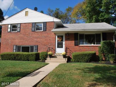Rockville MD Single Family Home For Sale: $414,900