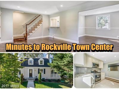 Rockville MD Single Family Home For Sale: $575,000