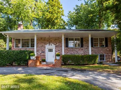 Potomac Single Family Home For Sale: 11813 Rosalinda Drive