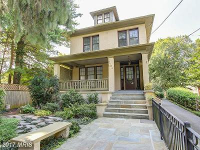 Silver Spring Single Family Home For Sale: 9104 Woodland Drive