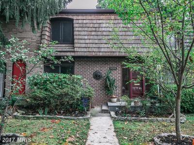 Potomac Townhouse For Sale: 8084 Inverness Ridge Road