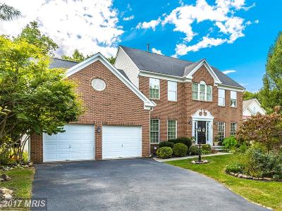 Poolesville Single Family Home For Sale: 10 Hackett Court