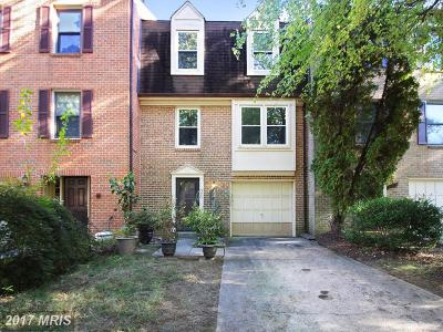 Gaithersburg Townhouse For Sale: 931 Wild Forest Drive
