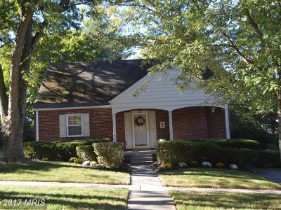 Kensington Single Family Home For Sale: 4404 Westbrook Lane