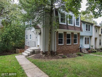 Germantown Townhouse For Sale: 11829 Summer Oak Drive