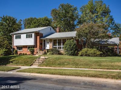 Bethesda Single Family Home For Sale: 6501 Stoneham Road