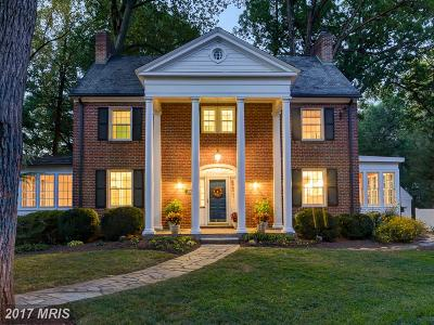 Silver Spring Single Family Home For Sale: 1529 Dale Drive