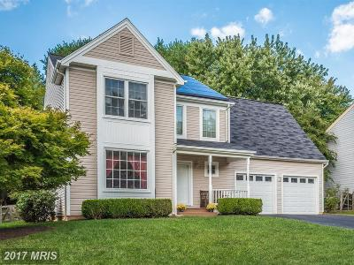 Gaithersburg Single Family Home For Sale: 9713 Dixie Ridge Terrace
