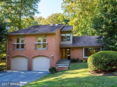 Cabin John Single Family Home For Sale: 8009 Cypress Grove Lane
